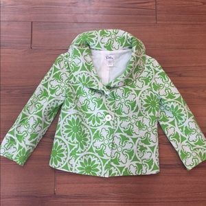 Lilly Pulitzer Medallion Floral Print Jacket